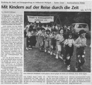 Kindertag 1996