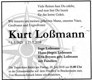 Kurt Loßmann
